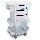 TrippNT 50924 Core DX Storage Cart with Security-Railed Top by TrippNT