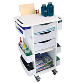 TrippNT 51007 Core DX Storage Lab Cart by TrippNT