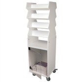 TrippNT 51019 Tilted Shelf Cart by TrippNT