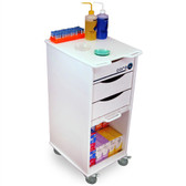 TrippNT 51142 Core SP Space-Saving Lab Cart by TrippNT