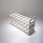 3 Tier Test Tube Rack for 20mm Tubes, 40 Places, case/2