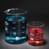 Low Form Beaker, Type I Borosilicate Glass, 1500mL, case/16