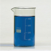 Beaker, Tall Form Berzelius with Spout, 600mL, case/24
