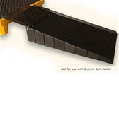 UltraTech 0678 Small Spill Pallet Ramp, for single drum (P1) Drum Pallets