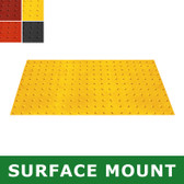 UltraTech 0751 Retrofit ADA Mat, Compliant Detectable Warning, 2 x 4'