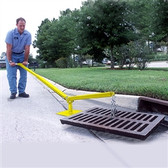 UltraTech 9234 Grate Lifter for Storm Drains, Ergonomic Lever, Portable