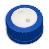 2-Port Cap for Glass Bottle, GL45, Complete Kit