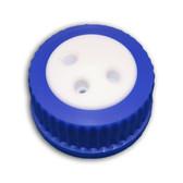 3-Port Cap for Glass Bottle, GL45, Complete Kit
