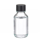 125mL Bottle, Media, Borosilicate Glass Media, Rubber Liner, case/48