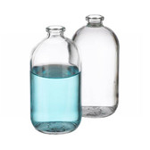 125mL Bottle, Serum, Glass, Clear Borosilicate Glass, case/144