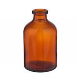 50mL Amber Serum Bottle, Borosilicate Glass case/288
