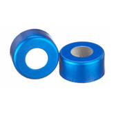 224176-05 11mm Seal, Open Top Hole Cap, Aluminum Blue, Unlined, case/1000