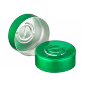 20mm Seal, Center Tear-Out, Aluminum Green, Unlined, case/1000