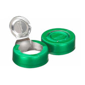20mm Seal, Tear-Off, Aluminum Green, Unlined, case/1000