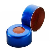 11mm Seal, Aluminum Blue, PTFE/Silicone/PTFE, case/1000