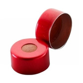 11mm Seal, Aluminum Red, PTFE/Silicone/PTFE, case/1000