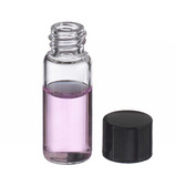 1.8mL, Economy Vials, Glass Clear, 8-425 Cap, Rubber, case/200