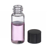 1.8mL, Economy Vials, Glass Clear, 8-425 Cap, PTFE Liner, case/200