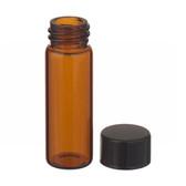 4mL, Economy Vial, Glass Amber, 13-425 Cap, PTFE Liner, Case/200