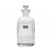 300mL Numbered Glass BOD Bottle, 169-192, Choose Stopper, case/24