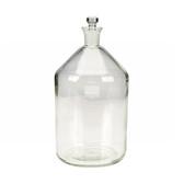 Wheaton 227580 2 Liter BOD Bottle, Glass Robotic Stopper