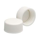 18-400 PP Caps, White, Poly Vinyl Liner, case/144