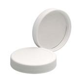 Wheaton 239218 58-400 Polypropylene Caps, White, Vinyl Liner, case/72