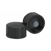 Wheaton 239249 13-425, Phenolic Black Caps, Polyethylene Cone Liner, case/144