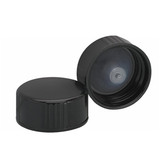 Wheaton 239255 22-400, Phenolic Black Caps, Polyethylene Cone Liner, case/144