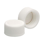 Wheaton 239401 13-425 Polypropylene Caps, White, Poly Vinyl Liner, case/15000