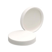 Wheaton 239443 63-400 Polypropylene Caps, White, PTFE Liner, case/1250