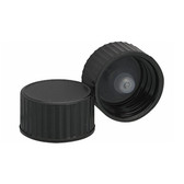 Wheaton 239451 18-400, Phenolic Black Caps, Polyethylene Cone Liner, case/6500