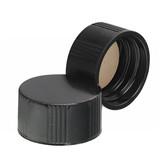 18-400 Caps, Phenolic Black, White Rubber Lined Caps, case/500