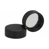 Wheaton 240319 28-400 Caps, Phenolic Black Caps, Foil Liner, case/100