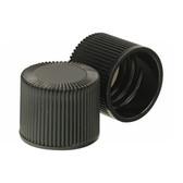 Wheaton 240414 18-415 Caps, Phenolic Black Caps, PTFE Liner, case/200