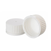 Wheaton 240736 45mm Caps, PP White, No Inner-Seal, case/12