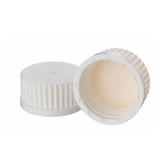 Wheaton 240740 45mm Caps, PP White, Bonded, PTFE Liner, case/12
