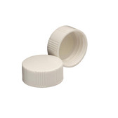 Wheaton 240817 22-400 Caps, Urea White, Polyethylene Lined Disc, case/1000