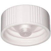 Wheaton 240917 22-400 Caps, Urea White, Polyethylene Cone Liner, case/1000