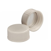 Wheaton 241017 22-400 Caps, Urea White, Foil Liner, case/1000