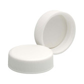 Wheaton 242226 33-400 Caps, PP White, Foamed Poly Liner, case/200