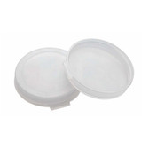 Wheaton 242619 45mm Snap Cap, Polyethylene Lined Natural, case/200