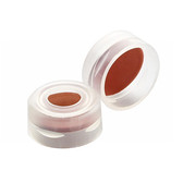 11mm Autosampler Snap Cap, PTFE /Silicone/, PTFE, case/1000