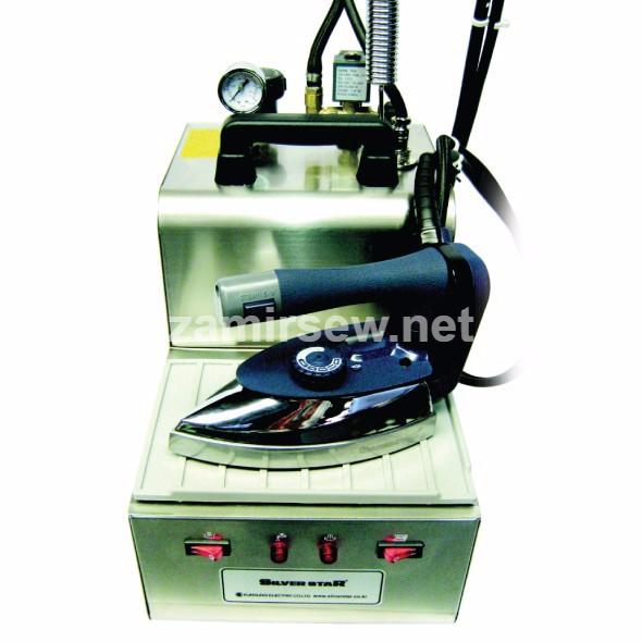Silver Star SB-400 Boiler Iron 110 Volt Consew - Zamir Sewing Machine Co