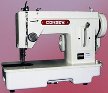 Consew CP206R New Walking Foot Sew. Machine W/Case