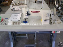 CONSEW 206RB5 Industrial Sewing Machine W/Needle Positioner Servo / Caster Legs