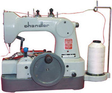 Chandler CM491 Portable Hand Operated Button Sewing Machine New W/Pedestal