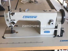 Consew P1206RB-1 Drop Feed , Needle Feed , Walking Foot , Lockstitch Machine , Reverse , Big Bobbin Head / Only