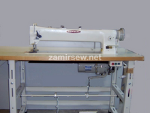"""CONSEW 206RBL-25"""" LONG ARM WALKING FOOT NEEDLE FEED SEWING MACHINE/STAND"""