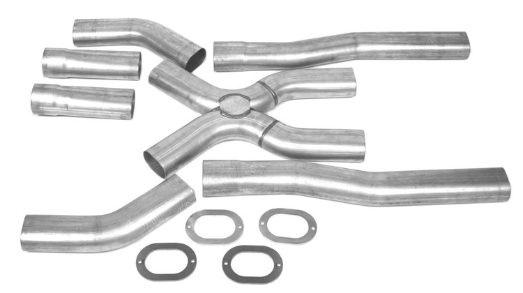 Truck Exhaust Kits >> X Panded Universal Oval X Pipe Kits